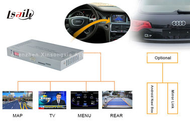 China 2009 - 2014 Audi A8L A6L Q7 NISSAN Multimedia Interface With Reversing Assist  360 Panoramic distributor