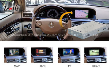 China Car Audio System Mercedes Benz  Navigation System with Touch Navi / Reversing Assist factory