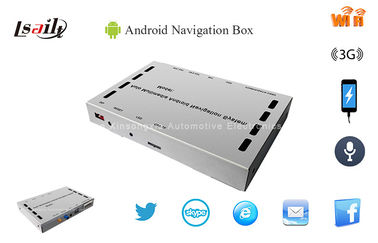 China Car Android GPS navigation Box with 2USB Ports & Network Map for Kenwood DVD Player factory
