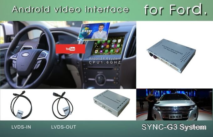 EDGE SYNC 3 Android Box Gps WIFI BT Map Google apps video interface