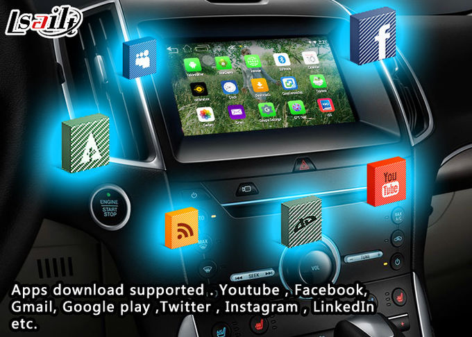 GPS Navigation Android Auto Interface System for 2016 Ford SYNC - G3 with Google Play