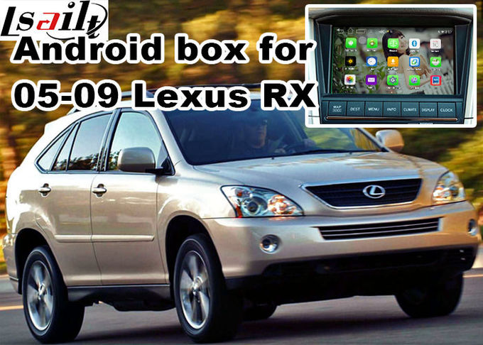 Lexus RX330 RX400h XU30 2005-2009 Android Navigation Box , mirror link video interface 360 panoram