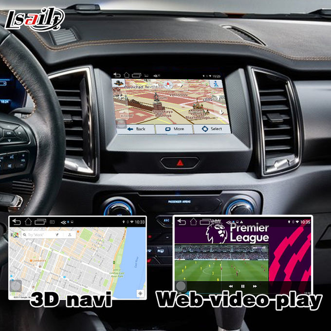 Ranger SYNC 3 Car Navigation Box With Android 5.1 4.4 WIFI BT Map Google apps