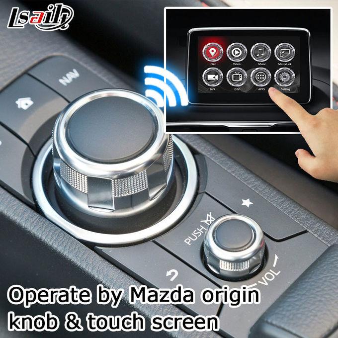 Mazda 3 Axela Video Interface Android Navigation Box With Mazda Knob