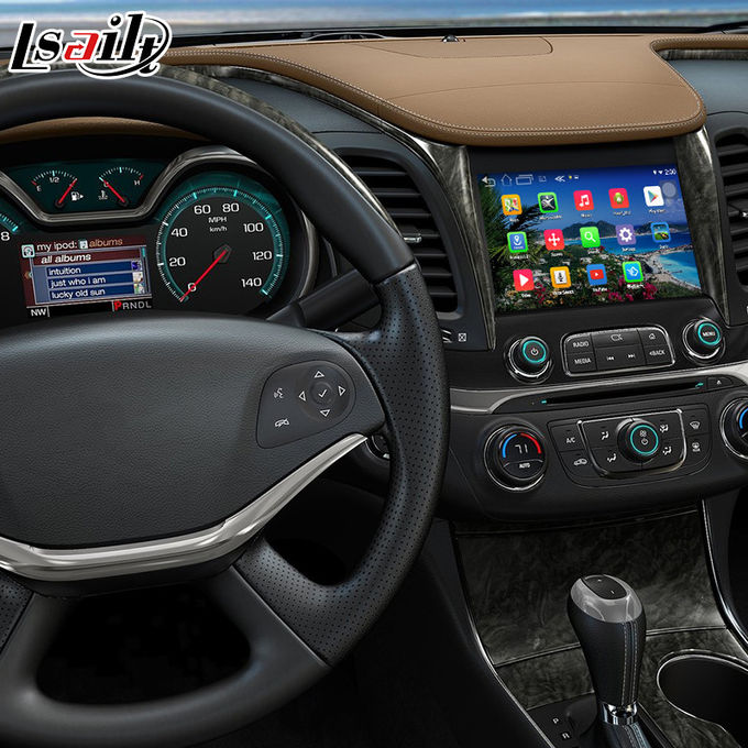 Chevrolet Impala Android 6.0 video interface with rearview WiFi video mirror link