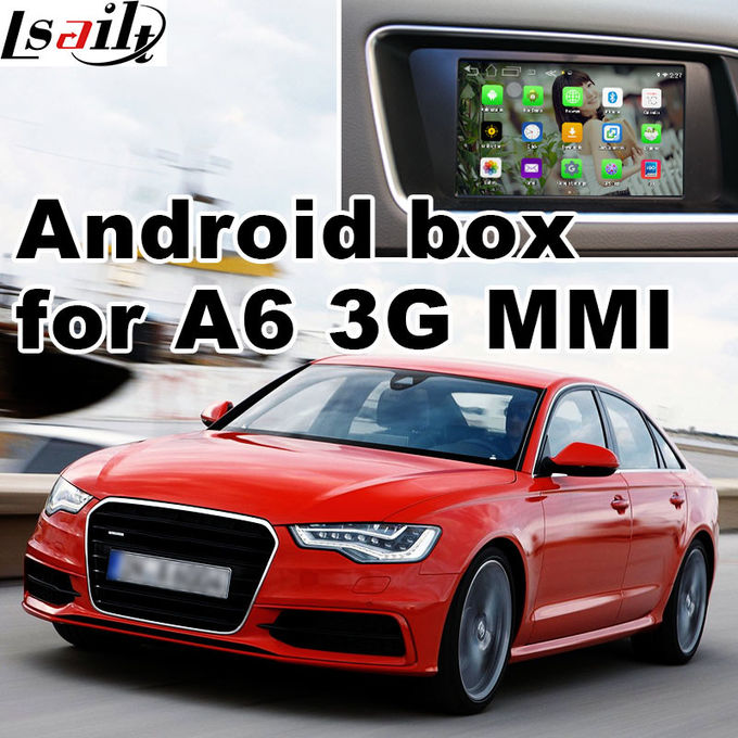 2010-2015 AUDI 3G MMI Multimedia Car Navigation System for A4 A6 A8 Q5 Q7 rear view cast screen