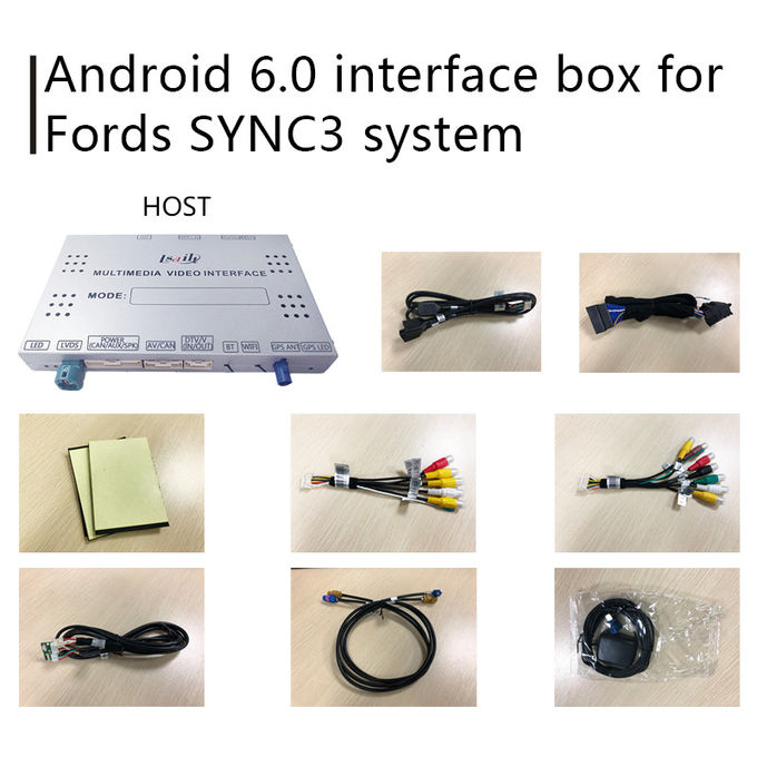 F-150 SYNC 3 Automotive Gps Navigation With Android 5.1 WIFI BT Map Google apps