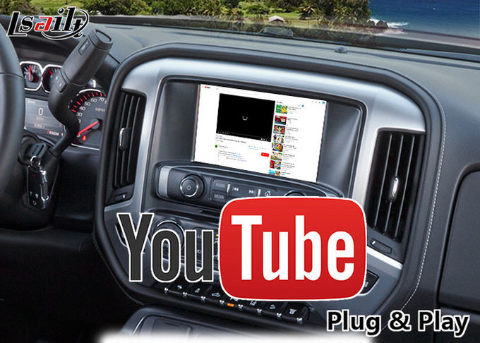 GMC Sierra Android 6.0 Navigation Video Interface for 2014-2018 support APPS/MCU Upgrade