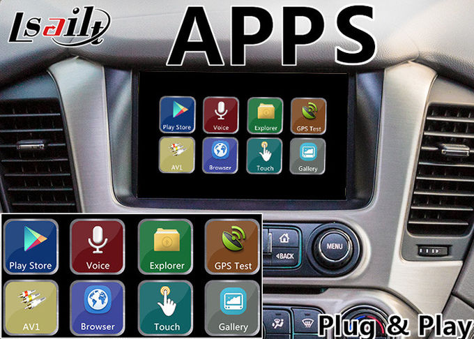 GMC Yukon Denal Android Navigation Box for 2014-2018 year with Online map(Google/waze)
