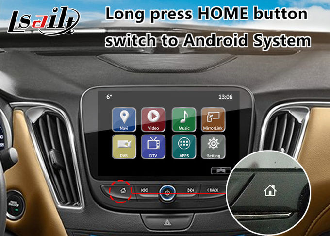 Chevrolet Malibu Android 6.0 Navigation Video Interface for Mylink System 2015-2018 YouTube Waze