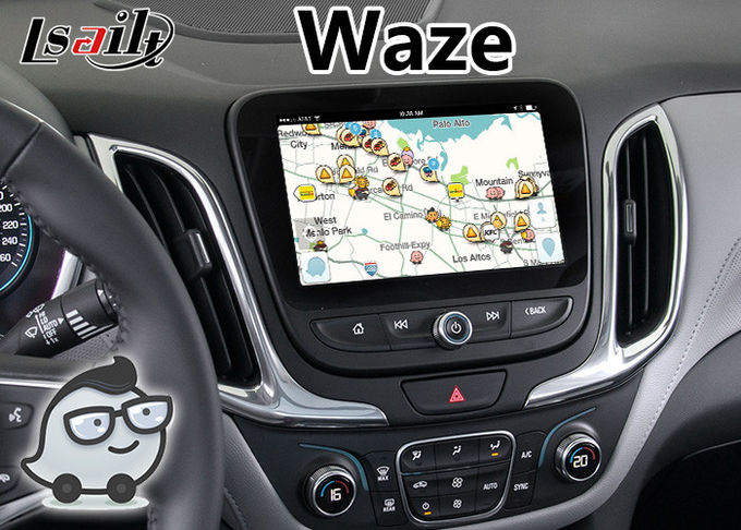 Android 6.0 Navigation Video Interface for Chevrolet Equinox / Traverse Mylink System 2015-2018 Google Waze Spotify