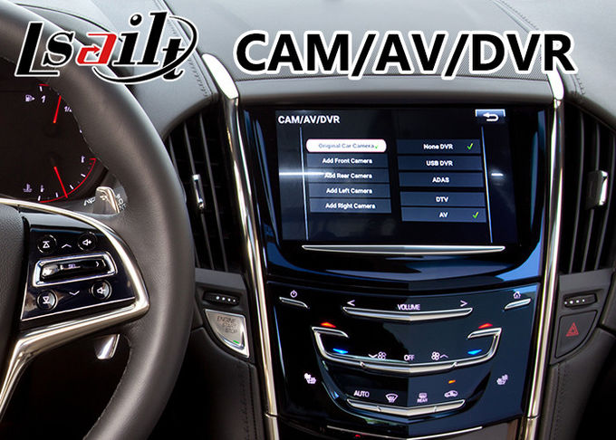 Android 6.0 Navigation Interface for Cadillac ATS / XTS with CUE System 2014-2018 Waze WIFI Google Play Store