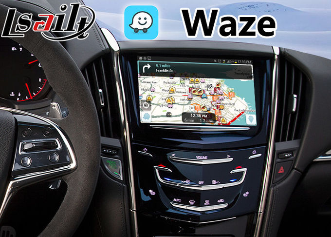 Android 6.0 Multimedia Video Interface for Cadillac ATS / SRX 2014-208 CUE System , Car GPS Navigation Plug and Play