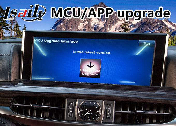 Android 6.0 Auto Video Interface for Lexus LX 570 with Mouse Control 2016-2018 , GPS Navigation Waze Mirrorlink