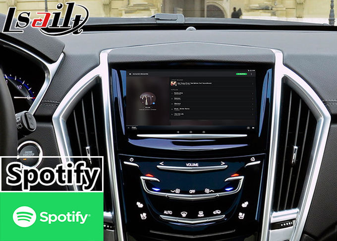 32 GB ROM Android Car Interface For Cadillac SRX CUE System 2014-2020 Spotify Google Chrome Play Store