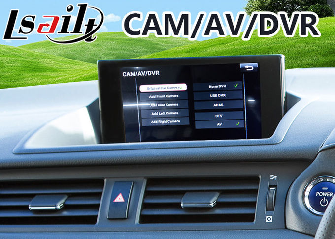 Android 6 0 GPS Navigation Interface for Lexus CT 200h 2016-2018