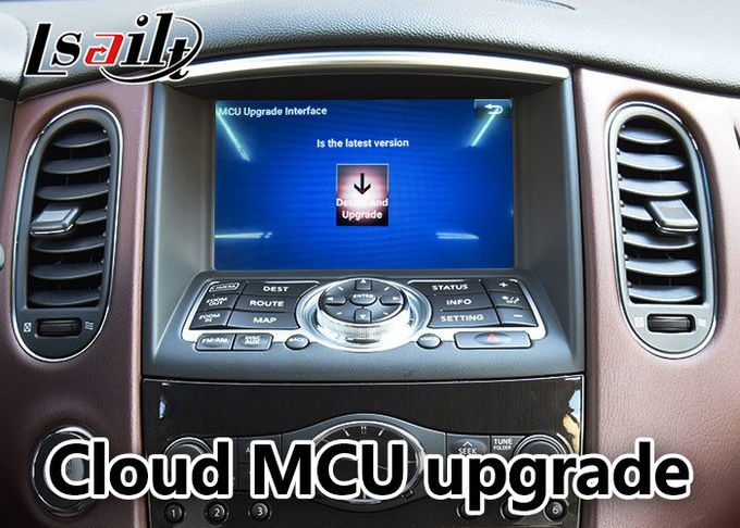 Infiniti QX50 / EX Car Navigation System With Multi Screen Interactive Display
