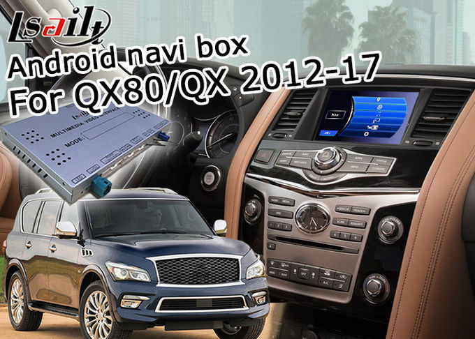 Infiniti QX80 / QX Android Auto Interface , Android Car Audio Interface With Mirror Link