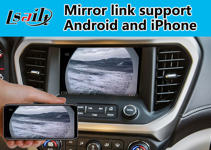 Android 6.0 Car Gps Navigation Box for GMC Acadia 2014-2018 , Video Interface Mirroirlink