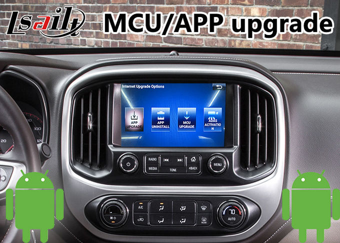 Android 6.0 GPS Navigation System for GMC Canyon 2014-2018 ,  Video Interface support Headrest