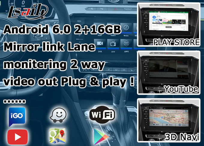 Volkswagen Arteon Android Car GPS Navigation Voice Activate