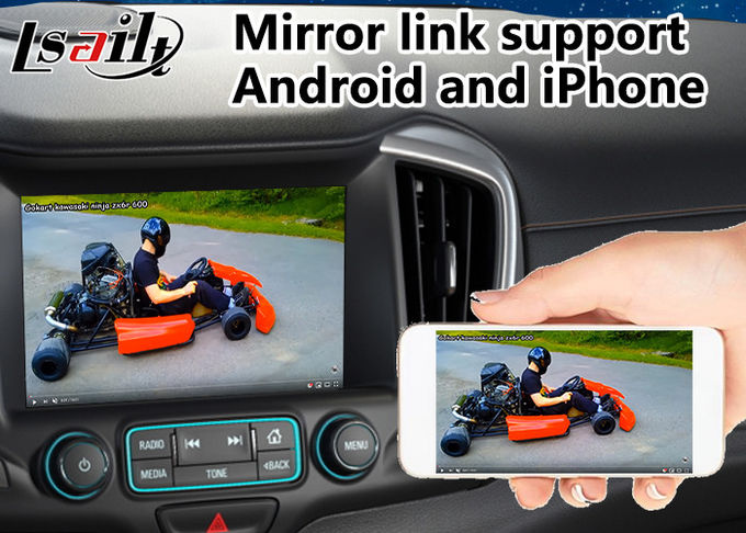 Android 6.0 Car GPS navigation system for GMC Terrain 2014-2018 Mirrorlink