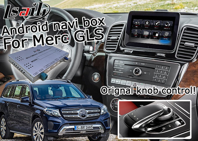 Mercedes Benz GLS Android Navigation Box , Youtube Navigation Video Interface