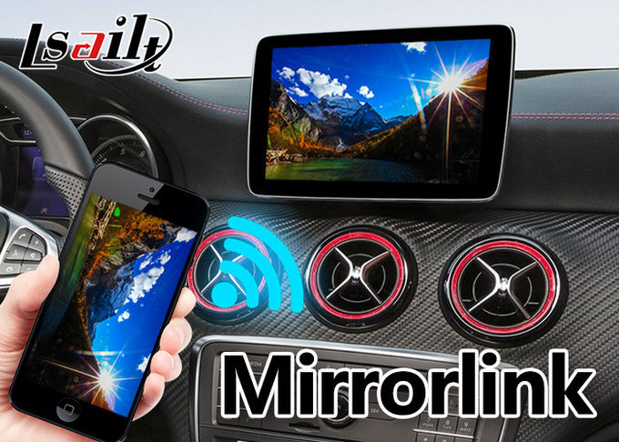 Android car gps navigation box interface for Mercedes benz  A class ( NTG 5.0 ) mirrorlink