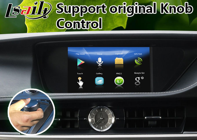 Android 7.1 Car Multimedia Video Interface for 2014-2018 Leuxs Es 250 Knob Control