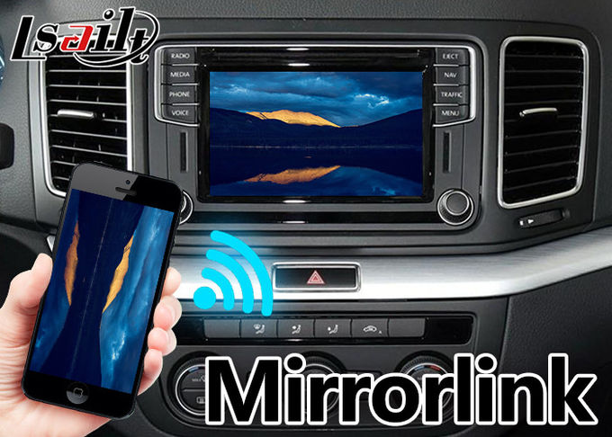 Real - Time & Offline GPS Navigation System With 1.2  GHz Quad / Hexa Core for Volkswagen Sharan