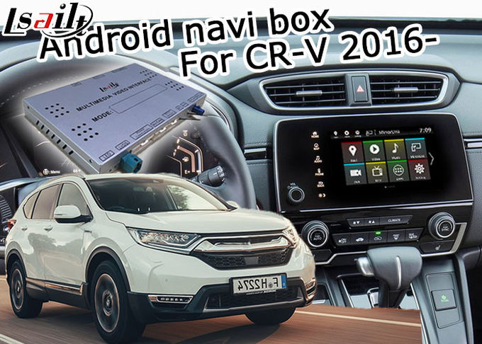 Lsailt Honda CR-V 2016- Android navigation box interface mirror link waze youtube etc