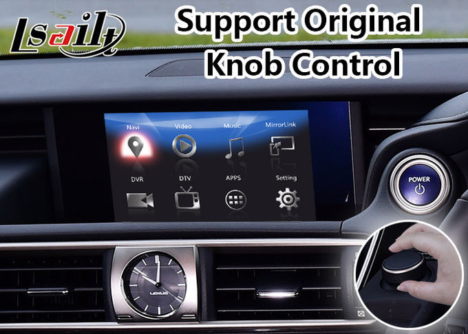 Lexus IS Android 7.1 Car GPS Navigation Box Auto Interface for IS300h Knob Control 2016-2018