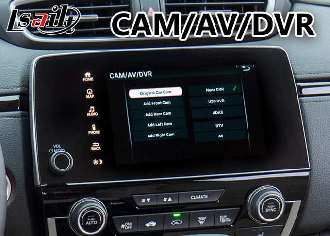 Cr-V Multimedia Honda Video Interface Built in Wifi Bluetooth Mirror link