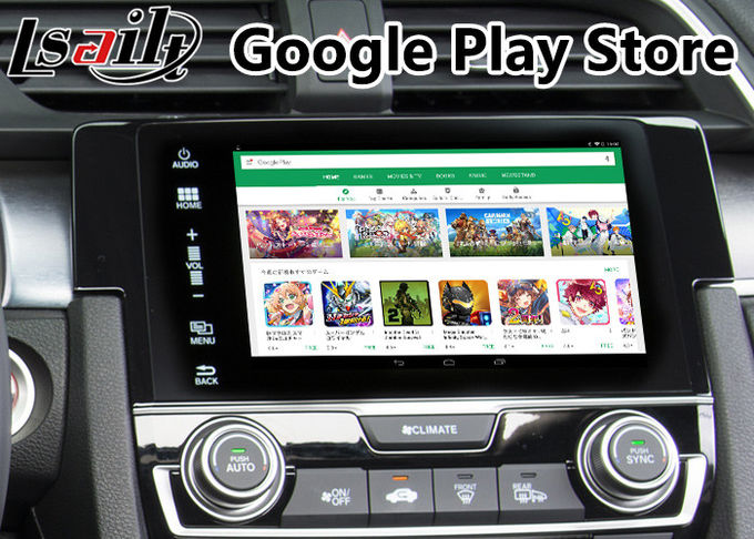 Android Multimedia Auto Interface Navigation for Honda New Civic support Google Map