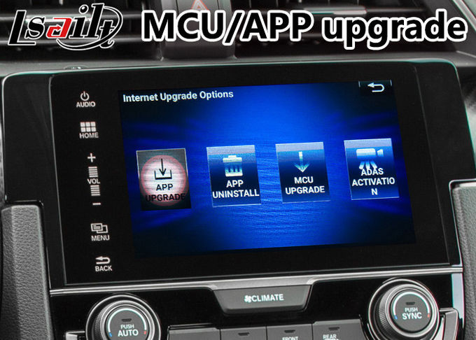 Honda Video Interface for New Civic , Android GPS Navigation with Youtube Mirror link