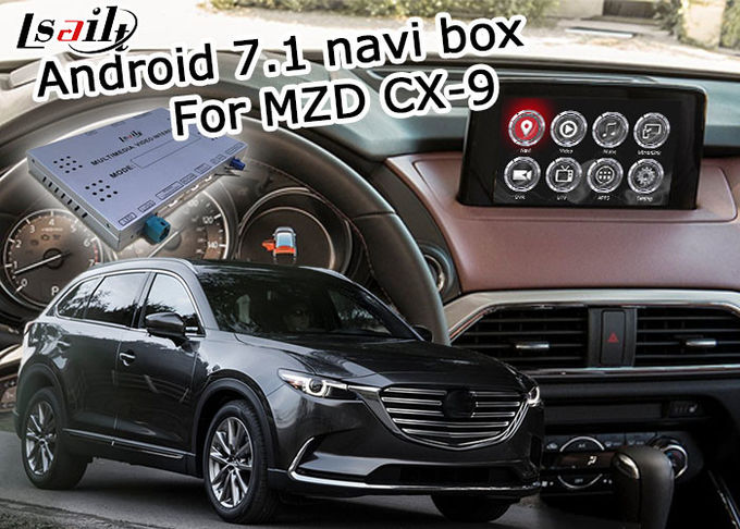 Android navigation video interface box for Mazda CX-9 CX9 12V DC power supply