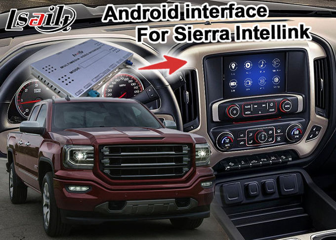 Hexa core Android Navigation Box 7.1 Video Interface Box For GMC Sierra Etc