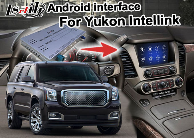 Android 7.1 Car Navigation Box Video Interface Box WIFI BT For GMC Yukon Etc