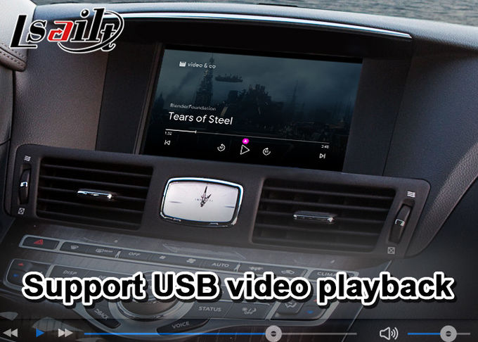 Wired Android Auto Mirrorlink Wireless Carplay For Infiniti M37 M35 M25 2009-2013
